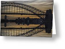 Sydney Harbour Late Afternoon Greeting Card