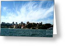 Sydney Harbour Sky Greeting Card