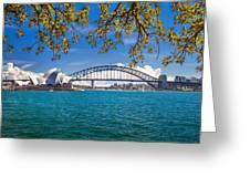 Sydney Harbour Skyline 2 Greeting Card