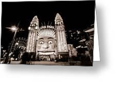 Sydney Luna Park Greeting Card