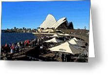 Sydney Opera House Bar Greeting Card
