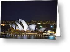 Sydney Opera House In Australia Greeting Card
