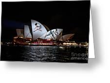 Sydney Opera House  Iv Greeting Card