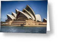 Sydney Opera House V10 Greeting Card