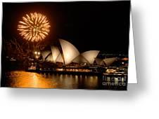 Sydney Opera Theatre Greeting Card