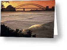 Sydney Surf Time Greeting Card