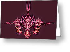 Symmetry Art 4 Greeting Card