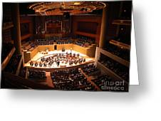 Symphony Orchestra Greeting Card