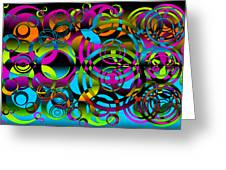 Synchronicity 3 Greeting Card