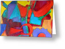 Syncopated Greeting Card by Diane Fine