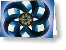 Synergy Mandala 1 Greeting Card