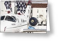 T-1a Jayhawk Greeting Card