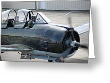 T 28 Greeting Card