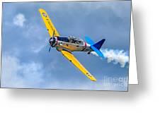 T-6 Texan Flying Greeting Card