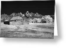 T A Moulton Barn Greeting Card