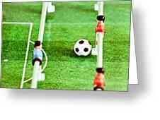 Table Football Greeting Card