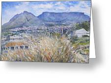 Table Mountain Cape Town South Africa Greeting Card