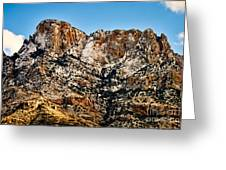 Table Mountain In Winter 42 Greeting Card
