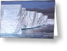 Tabular Iceberg Greeting Card