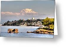 Tacoma City Skyline Greeting Card
