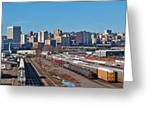 Tacoma City Wide View Greeting Card