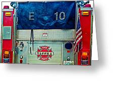 Tacoma Fire Dept. Greeting Card
