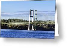 Tacoma Narows Bridge 54 Greeting Card