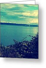 Tacoma Narrows  Greeting Card