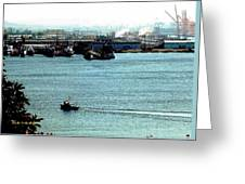 Tacoma Tugboat  Greeting Card
