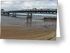 Tacony Palmyra Bridge Greeting Card