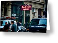 Tadich Grill Greeting Card