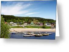 Tadoussac Quebec Greeting Card