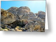 Tagged Rocks Greeting Card