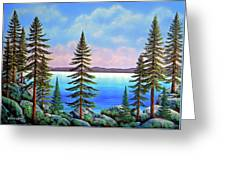 Tahoe Pines Greeting Card