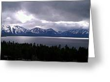 Tahoe Winter Greeting Card