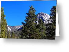 Tahquitz Rock - Lily Rock Greeting Card