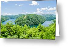 Tail Of The Dragon Scenic Road In Great Smoky Mountains Greeting Card