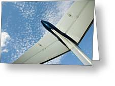 Tail Of The Airplane Greeting Card