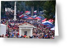 Tailgating At Ole Miss Greeting Card