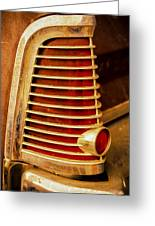 Taillight Greeting Card