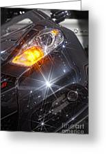 Dodge Headlight Greeting Card