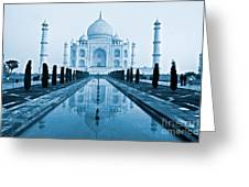 Taj Mahal - Agra - India Greeting Card