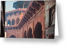 Taj Mahal Jawab Greeting Card by Inge Johnsson
