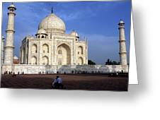 Taj Mahal Love Greeting Card