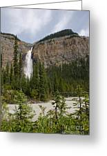 Takakkaw Falls Greeting Card