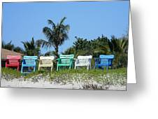 Take A Seat At The Beach Greeting Card