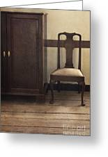 Take A Seat Greeting Card by Margie Hurwich