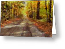Take Me Home Country Roads Greeting Card