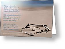 Take Me To The Ocean Blue Greeting Card
