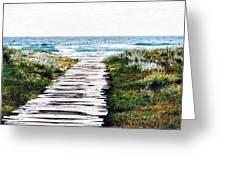 Take Me To The Sea Greeting Card